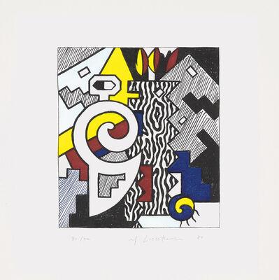 Roy Lichtenstein, 'Dancing Figures, from American Indian Theme', 1980