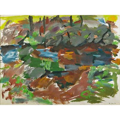 Elaine de Kooning, 'Catskill Series: Rocks and Trees', 1965