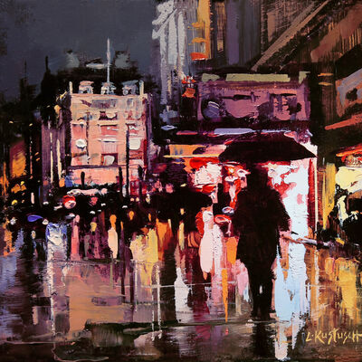 Lindsey Kustusch, 'London Lights at Piccadilly Circus', 2020