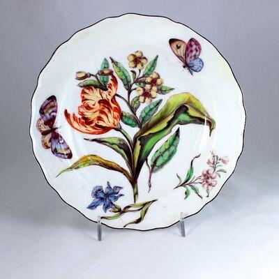 Chelsea Porcelain Factory, ''Hans Sloane' Botanical Plate'