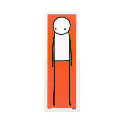 Stik, 'Standing Figure (Orange)', 2013