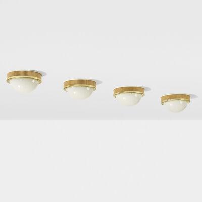 Hans-Agne Jakobsson AB, 'Ceiling lights, set of four', c. 1970