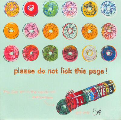 Andy Warhol, 'Lifesavers', 1985