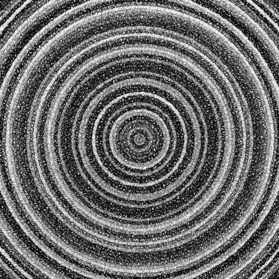 """James Vance, ' """"Concentric Ink 4""""', 2019"""