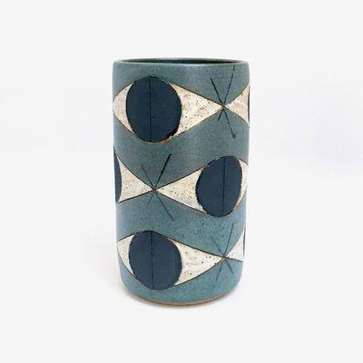 Matthew Ward, 'Green Felix Totem Vase', 2016