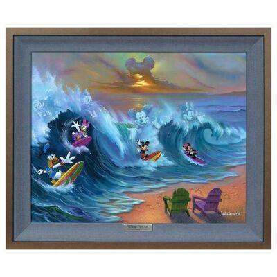 Jim Warren, 'Surfing with Friends', 1990-2020