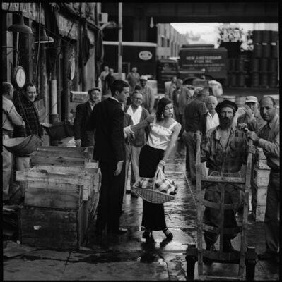 Jerry Schatzberg, 'Anne St. Marie, Fulton Fish Market', 1958