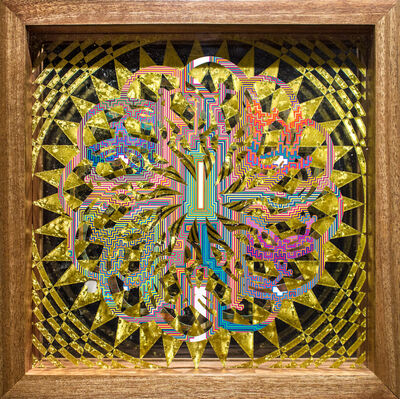 Hunter Stabler, 'Seraphim/Wheel of Ezekiel 4', 2016