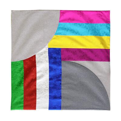 Chung Kyeongmee, 'Rainbow Plaids-Blanket', 2018