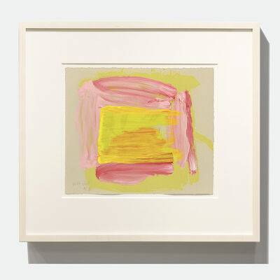 Howard Hodgkin, 'A Pale Reflection', 2015