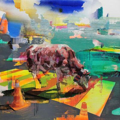 Jose Luis Ceña, 'Urban Fold III ', 2019