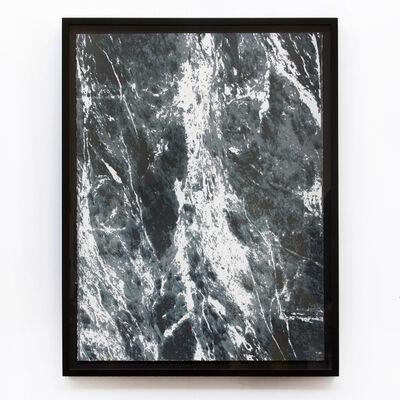 Elizabeth Corkery, 'Black/Green Marble', 2012