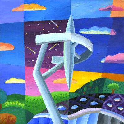 Philip Stanton, 'Calatrava tower', 2019