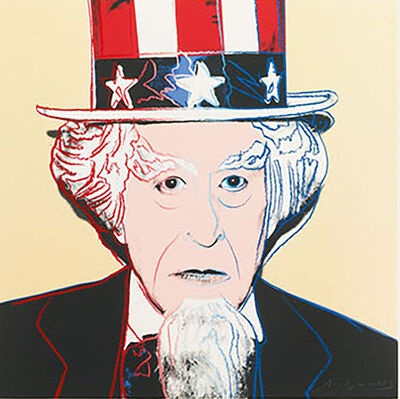 Andy Warhol, 'Uncle Sam (FS II.259) ', 1981