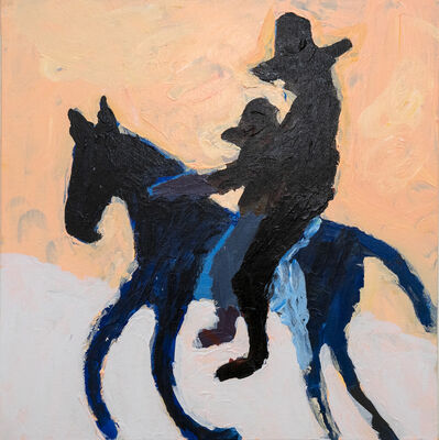 Mie Olise Kjærgaard, 'Woman and Boy on Horse', 2019