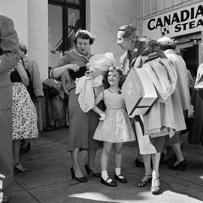 Vivian Maier, 'Canada', 1950