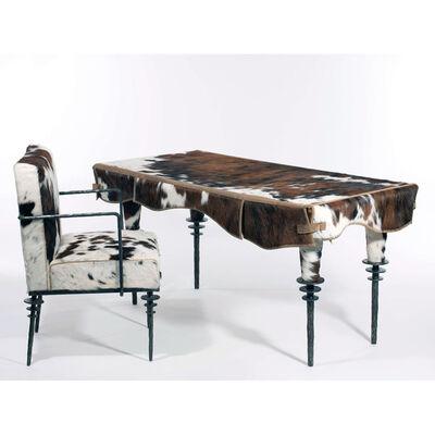 Elizabeth Garouste and Mattia Bonetti, 'Desk and Chair Rodeo', ca. 1989