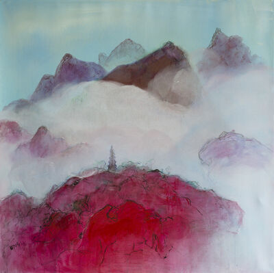 Zheng Zaidong, 'Pagoda in the Clouds | 云锁山塔', 2015