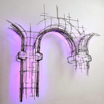 Juan Garaizabal, 'Broken Havana facade', 2019