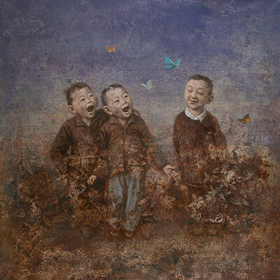 Wang Gang, 'Butterflies', 2013