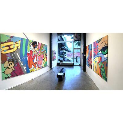 """Breaking Ground: Redefining the Urban Experience"" Featuring John ""CRASH"" Matos, installation view"