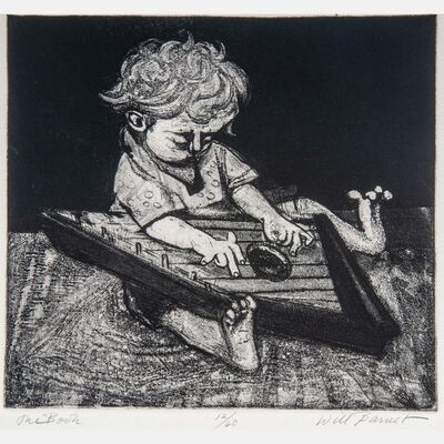 Will Barnet, 'The Zither', 1939
