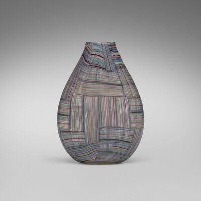 Paolo Venini, 'Rare and Important Mosaico Tessuto vase', 1954