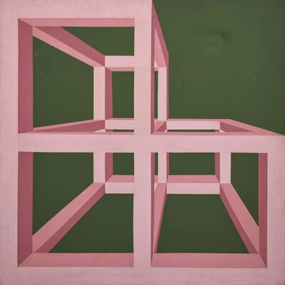 Antonio D'Agostino, 'Cage A / 102', executed in 1970