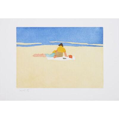 Alex Katz, 'Figures on the Beach', 2008