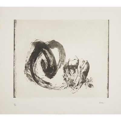 Cleve Gray, 'Four Prints: Untitled Abstract; Untitled (Floating Square); Untitled (Brushstroke); Untitled'