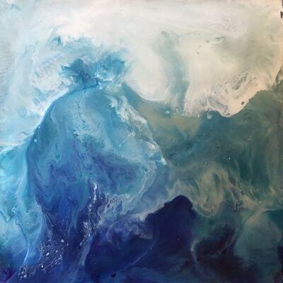 Julia Ross, 'Abstract Oceans 1', 2018