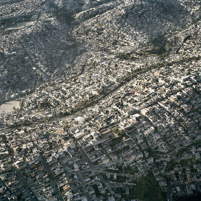 Pablo López Luz, 'Aerial View of Mexico City XXIV', 2006