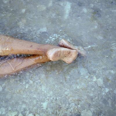 Michelle Lisa Polissaint, 'Mom's Feet (River) ', 2017