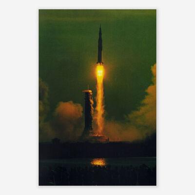 Hiro, 'APOLLO - 11, 9:32 A. M. 7-16-69 MAIDEN VOYAGE TO THE MOON', 1969