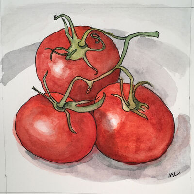 Mary Lawler, 'Cluster Tomatoes', 2017
