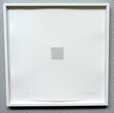 Vera Molnar, 'Courbe Ste. Victoire 2 ', 2019