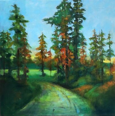 Stuart Slind, 'Forest Road, Early Fall', 2018