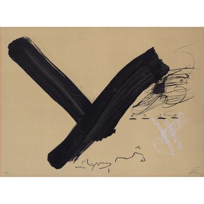 Antoni Tàpies, 'Y', 1982