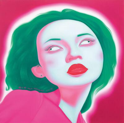 Feng Zhengjie, 'Chinese Portrait G Series 2007 No. 16', 2007