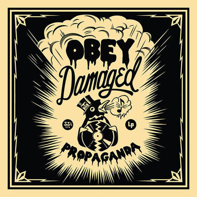 Shepard Fairey (OBEY), '50 Shades of Black Box Set: Damaged ', 2014