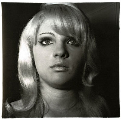 Diane Arbus, 'Blond Girl with Shiney Lipstick', 1967