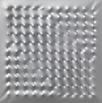 Enrico Castellani, 'Superficie alluminio', 2005