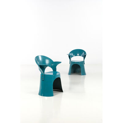 Nanna Ditzel, 'OD5301, Pair of armchairs', 1969