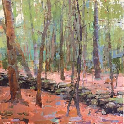 Jon Redmond, 'Stone Wall in the Woods', 2017