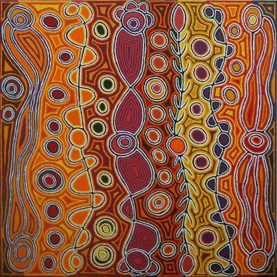 Judy Napangardi Watson, 'Snake Vine Dreaming', 2014