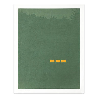 Alex Katz, 'Fog (from Northern Landscapes)', 1994