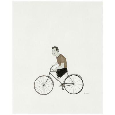 Marcel Dzama, 'Slow Cyclist', 1998