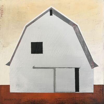 Justin Wheatley, 'White Barn III', 2019