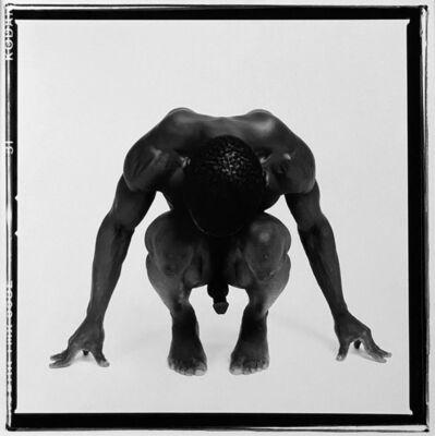 Chuck Pearson, 'Crouching Male Nude', n.d.