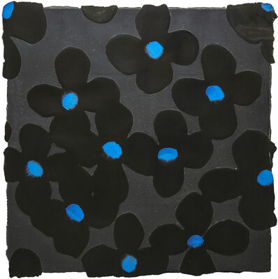 Donald Sultan, 'Black and Blue', 2008